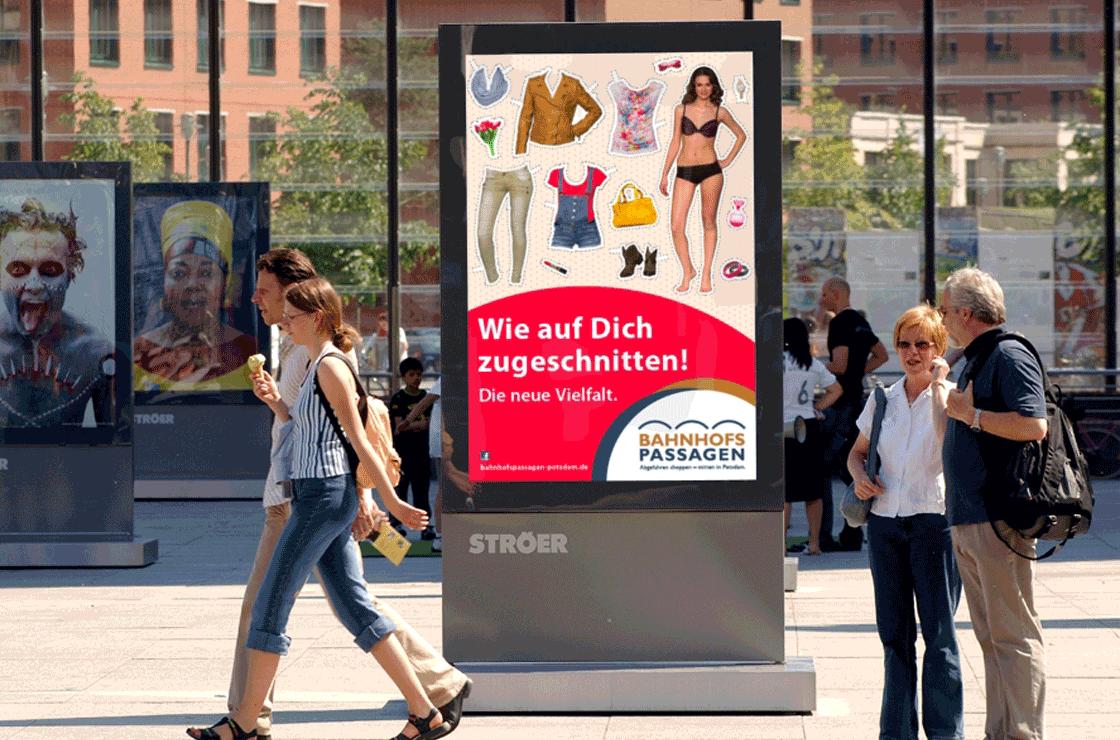 Imagekampagne – Bahnhofspassagen